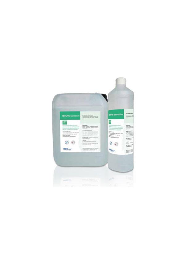 SinAlc sensitiv - gebrauchsfertige Flächendesinfektion ohne Alkohol - wirksam in 60 Sekunden für Ultraschallköpfe - 1 / 5 Liter