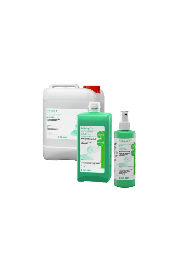 Softasept N Hautdesinfektion, 250 ml / 1 / 5 Liter