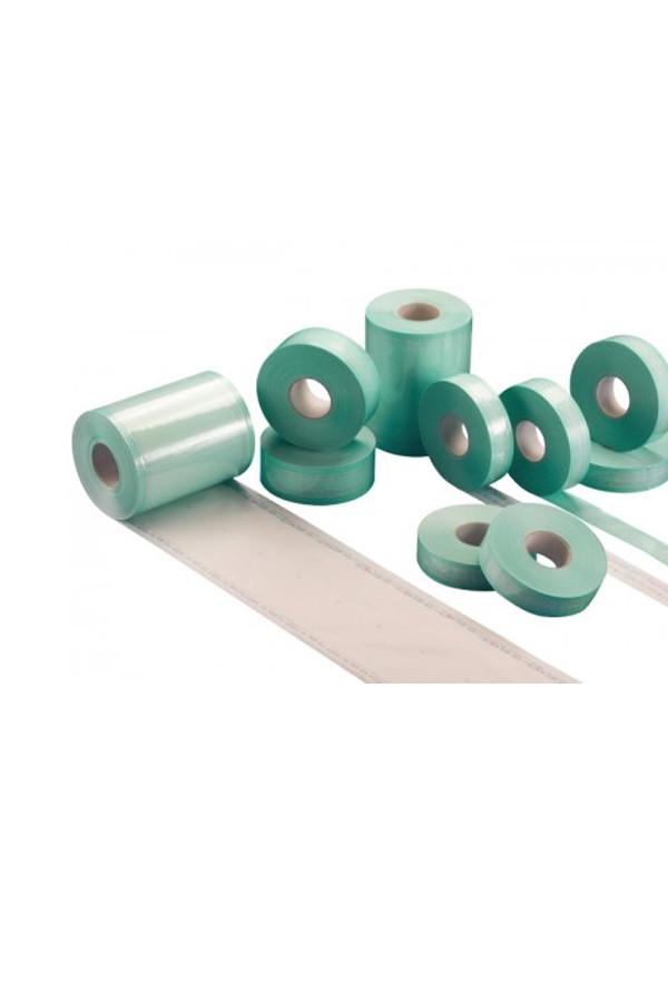 Sterilisationsrolle mit 50 mm Falte in 2 Breiten, 100 / 150 mm x 100 m Rolle