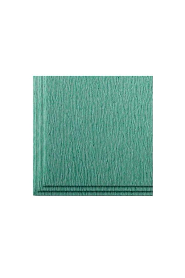 Sterilisierpapier, gekreppt grün, 90 x 90 cm - 250 Blatt