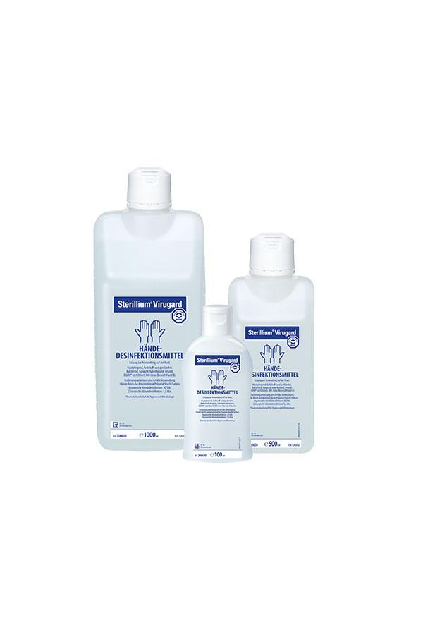 """Sterillium Virugard  """"viruzides Händedesinfektionsmittel"""" 100 und 500 ml"""