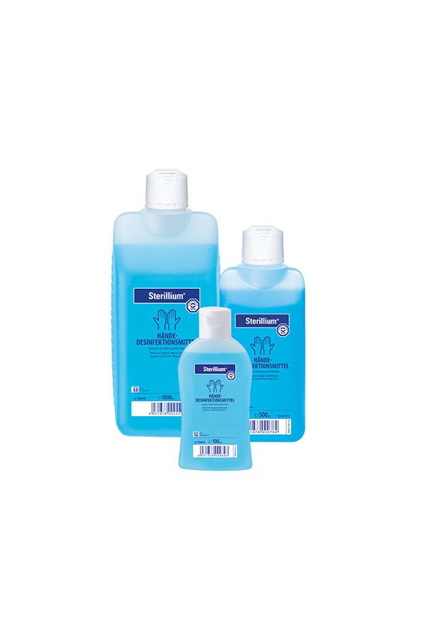Sterillium Händedesinfektion 100 und 500 ml // 1 und 5 L