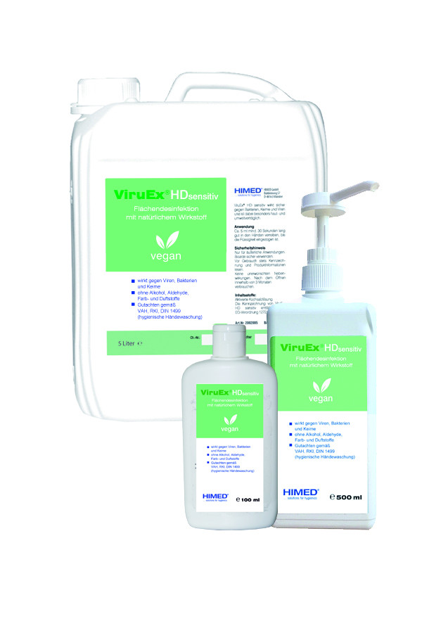 ViruEx® HD sensitive 100 ml / 500 ml / 5 L
