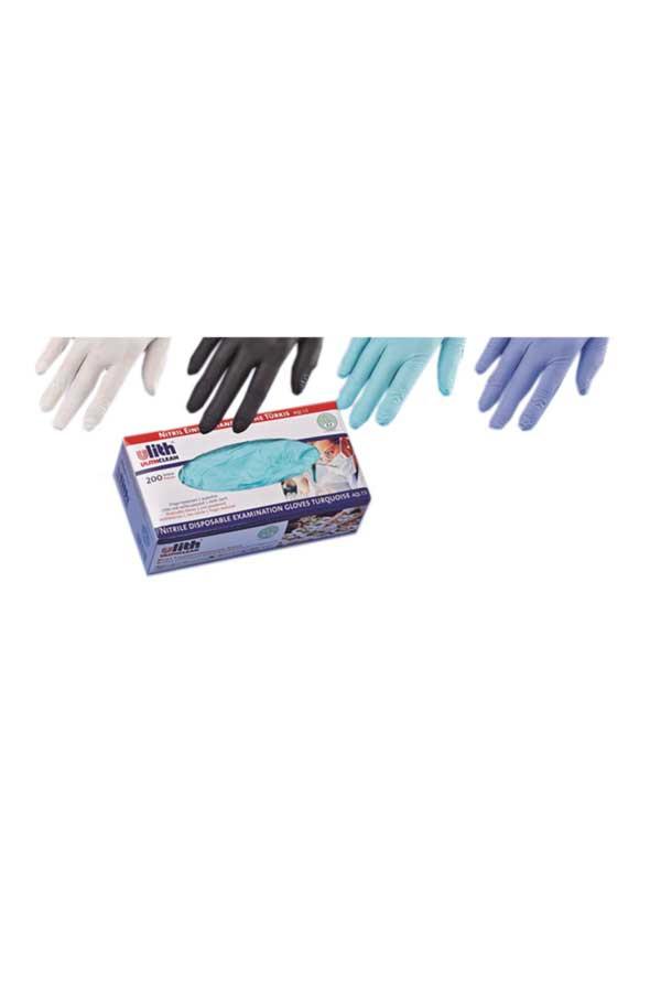 Nitril-Einweghandschuhe, PROFI 37, Gr. S / M / L / XL schwarz, puderfrei, 200 Stk./Box