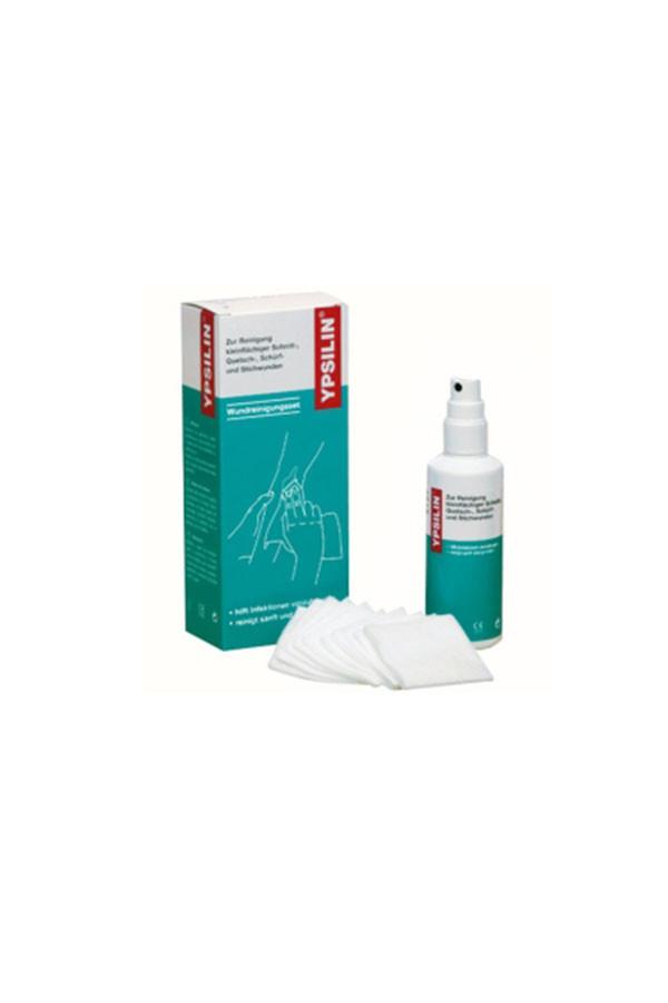 YPSILIN®  Wundreinigungsset  groß  100 ml Fluid 20 Tücher