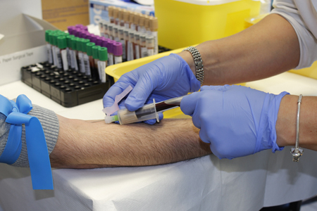 Blutentnahme-Injektion
